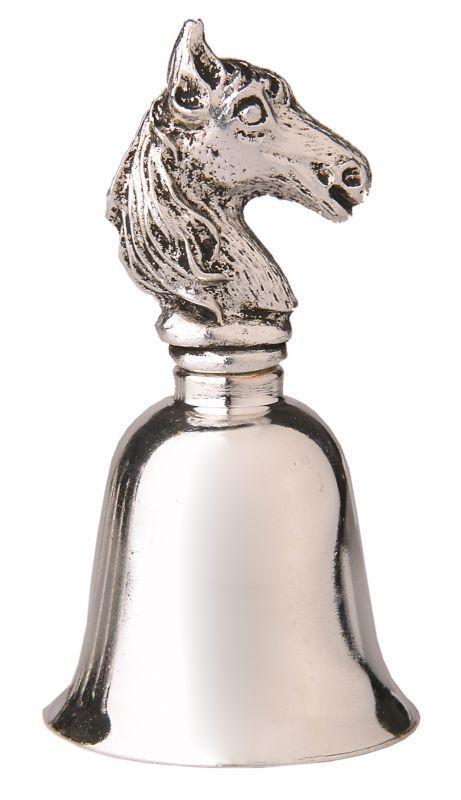 zvonek s koňskou hlavou