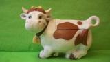 Dóza - smějící se kráva barevná
