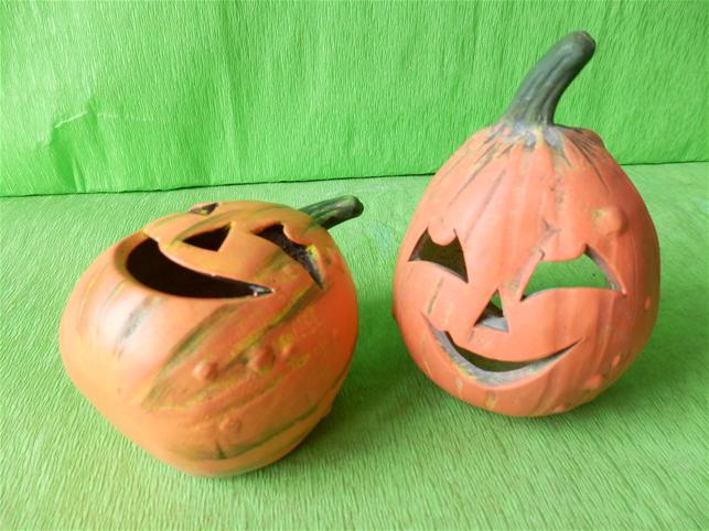 Halloweenská dýně mini