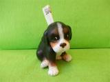 Pokladnička pes - sedící štěňátko