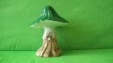 Keramická houba -  holubinka střední s obličejem