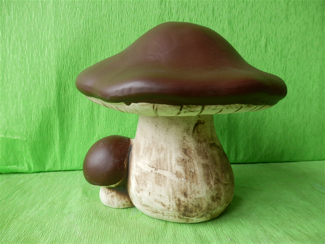 keramická houba hřib pravý