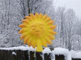 Plotovka - velké slunce
