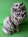 Soška perská kočka sedící