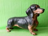 Soška pes - jezevčík černohnědý