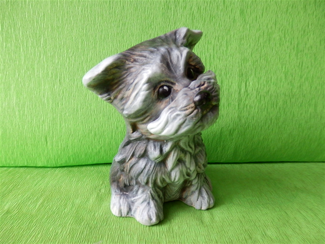 Soška pes - knírač
