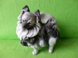 Soška pes - špic barevný