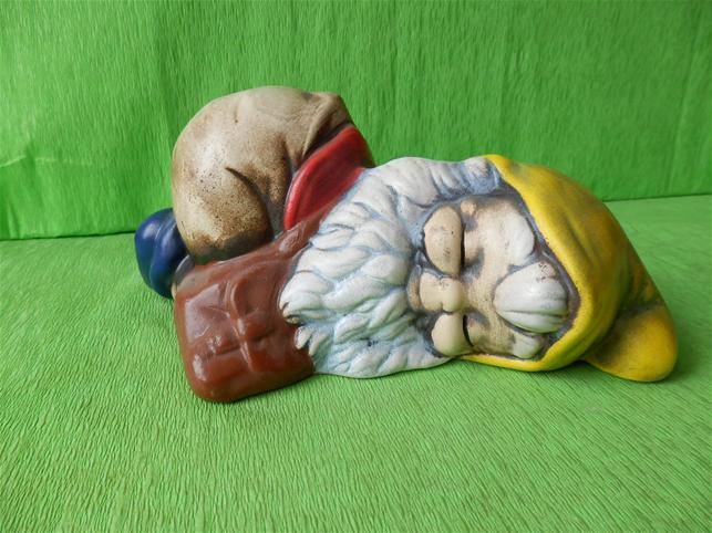 Soška trpaslík Lukin
