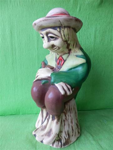 Soška vodník sedící na vrbě