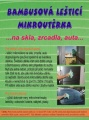 Bambusová leštící mikroutěrka CENTRUM SERVICE
