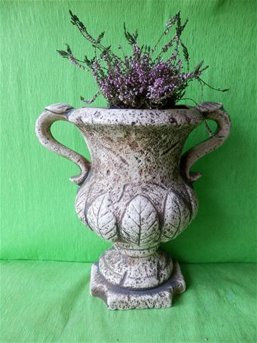 Keramická nástěnná váza