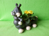 Keramický květináč stonožka
