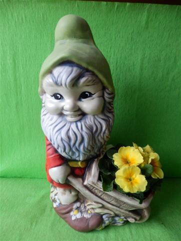 Keramický květináč tpaslík s kolečkem