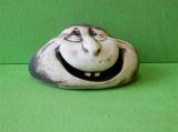 Keramický ozdobný dvojzubý kámen