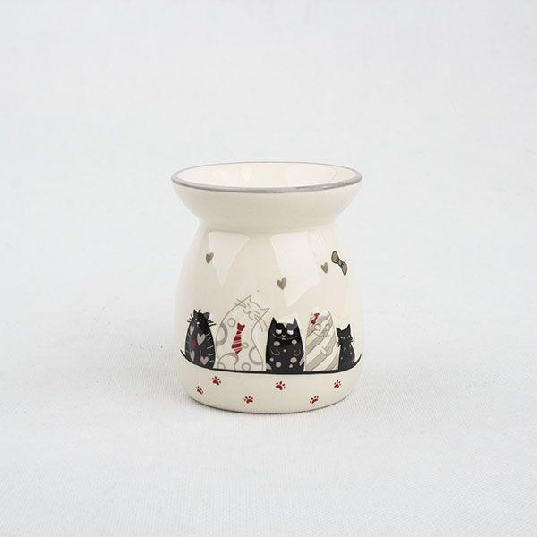 lampa na vonný olej Vysmáté kočky