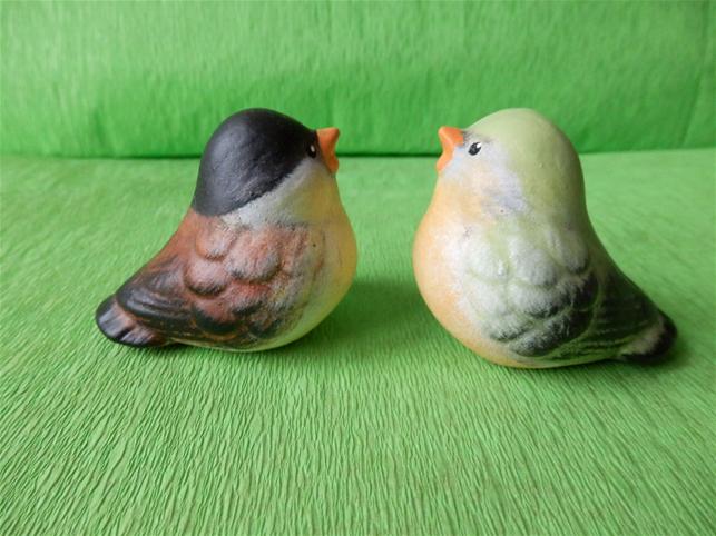 Soška malý ptáček