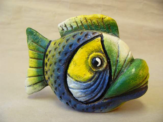 Soška ryby - korálovka