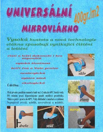 Univerzální mikrovlákno 35x35 CENTRUM SERVICE