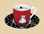 Espresso Kočka s ťapkami