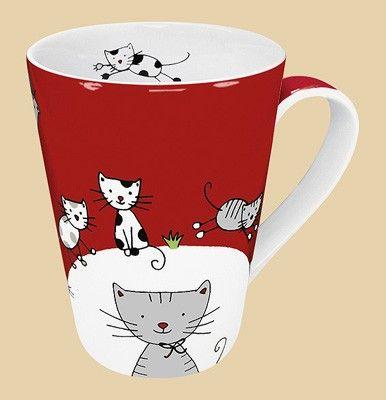 Hrnek Globetrotter Cat kónický