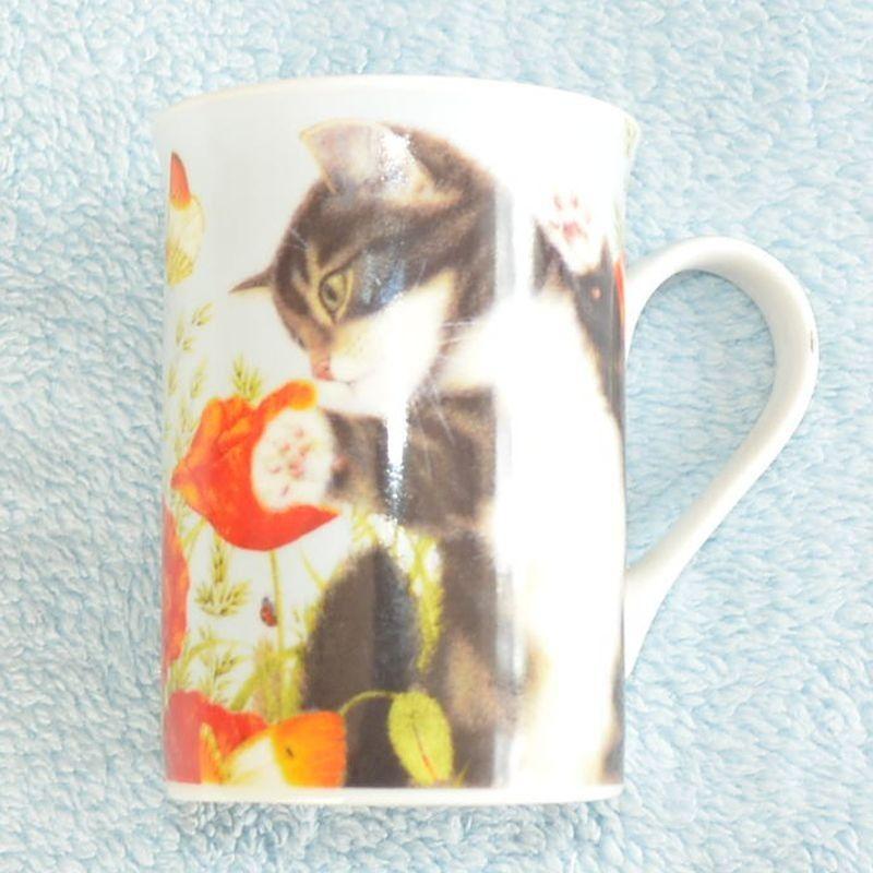 Hrnek Kočka v máku