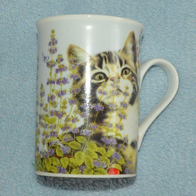 Hrnek Kočka v mátě