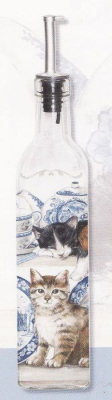 Karafa / lahev kočky Kitties on the shelf 500 ml