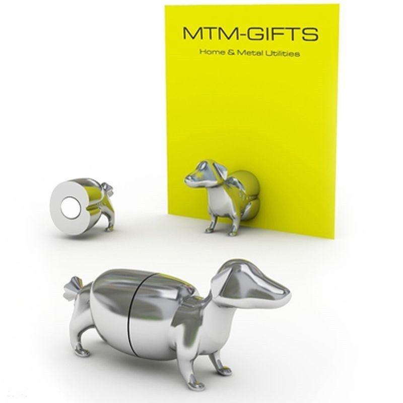 Magnetický fotodržáček pes jezevčík