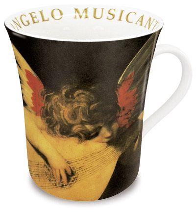 Andělský muzikant hrneček