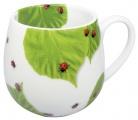 Ladybird on leaves - buclák - berušky