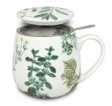Hrnek se sítkem My favourite tea herbs