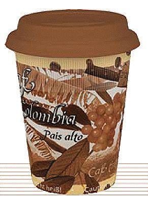 Cestovní hrnek Kávová Kolumbie