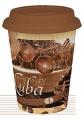 Coffee Cuba - hrnek se silikonovým víčkem