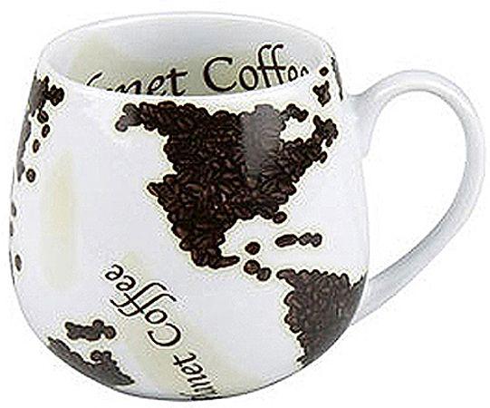Hrnek Kávová mapa světa