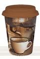 Coffee Story - hrnek se silikonovým víčkem