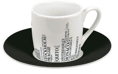Metropole hrnek na espresso kaligram