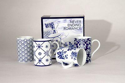 Nekonečná romantika - sada hrnků