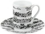 Vivaldi Libretto white - minipresso s podšálek