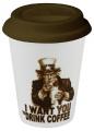 Drink Coffee - hrnek se silikonovým víčkem