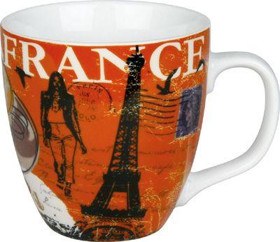 Hrnek francouzské symboly