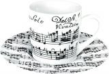 Vivaldi Libretto white - espresso