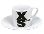 XS on white - espresso
