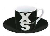 XS on black - espresso