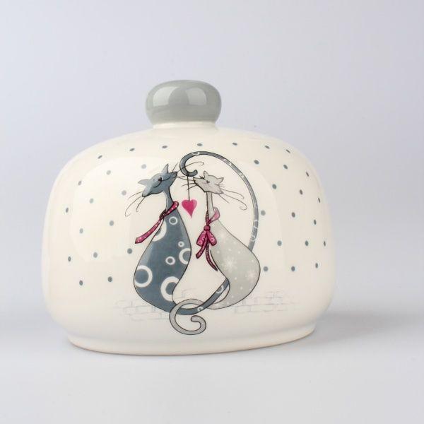 Držák na drátěnku nebo houbičku Kočky milovnice