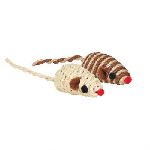 Sisalová myš pro kočky