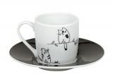 Hrnek Funny cats - espresso