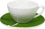 Hrnek Golf /Café creme set malý šálek s podšálkem