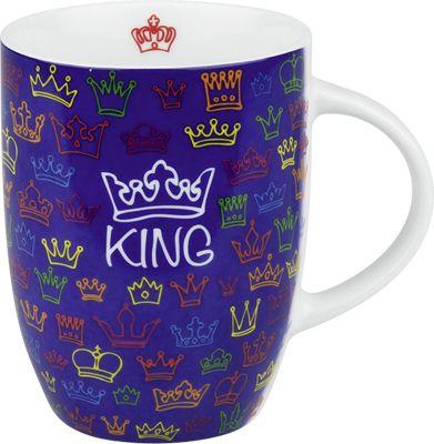 Hrnek s nápisem- Král