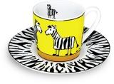 Hrnek Zebra/Zebra - espresso
