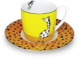 Hrnek Giraffe/Žirafa - espresso